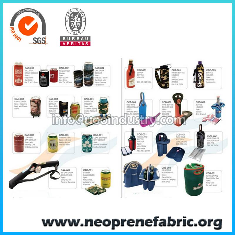 Neoprene Can Cooler For Fabric ~ Neoprene bottle can cooler koozie holder bag